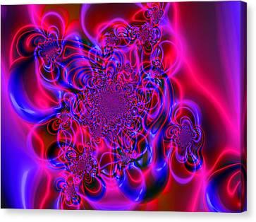 Plasma Dream Canvas Print