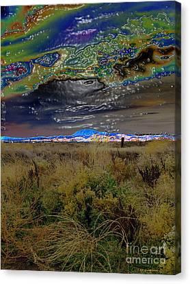 Plasma Sky Canvas Print