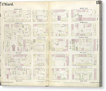 Plate 13 Map Bounded By Concord Street, Duffield Street Canvas Print