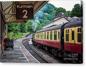 Platform 2 Canvas Print by Adrian Evans