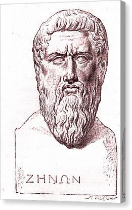 Plato Canvas Print by Collection Abecasis
