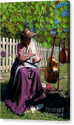 Play A Song For Me Canvas Print by Liane Wright