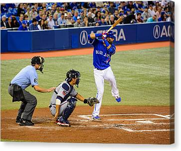 Play At The Plate Canvas Print