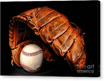 Play Ball Canvas Print by Olivier Le Queinec