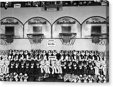 Play Basketball Mono Canvas Print