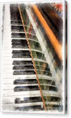 Play It Again Sam Canvas Print by Edward Fielding