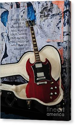 Play It Loud Canvas Print