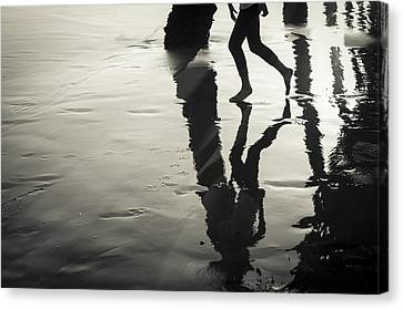 Canvas Print featuring the photograph Play by Kevin Bergen