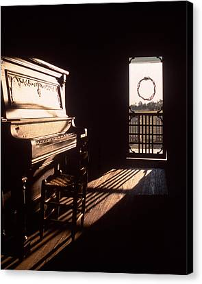 Screen Doors Canvas Print - Play Me by David and Carol Kelly