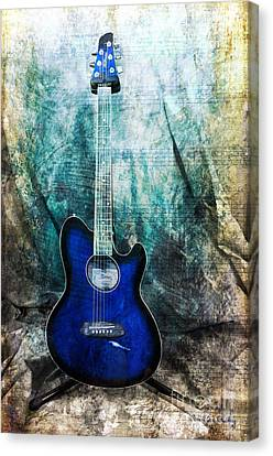 Play Me Some Blues Canvas Print