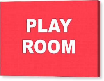 Play Room Canvas Print by Chastity Hoff
