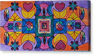 Sacred Canvas Print - Play by Teal Eye  Print Store
