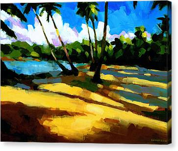 Playa Bonita 2 Canvas Print by Douglas Simonson