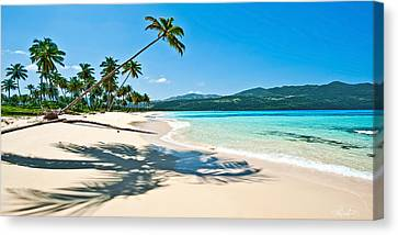 Playa Rincon Canvas Print