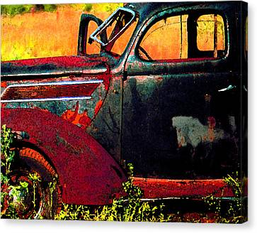Canvas Print featuring the photograph Played Out by Christopher McKenzie