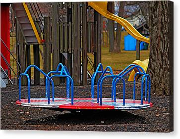 Canvas Print featuring the photograph Playground by Rowana Ray
