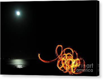 Playing With Fire 1 Canvas Print