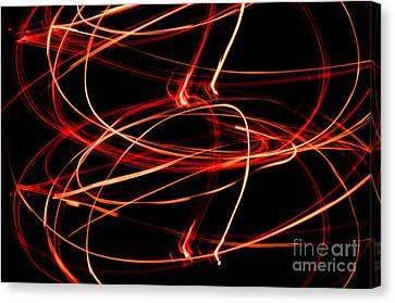 Playing With Fire 13 Canvas Print