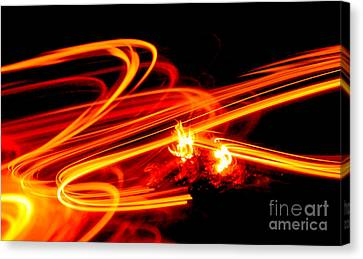 Playing With Fire 4 Canvas Print