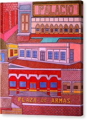 Plaza De Armas Canvas Print