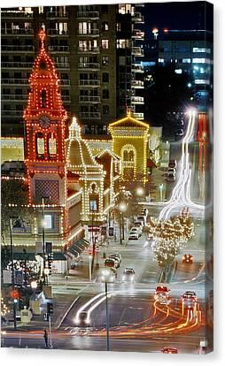 Plaza-kansas City Canvas Print