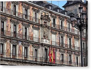 Plaza Mayor Canvas Print