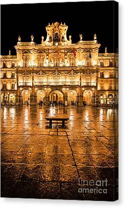 Plaza Mayor In Salamanca Canvas Print