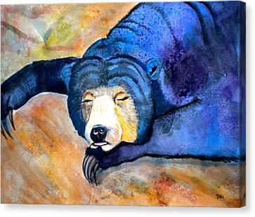 Earth Tones Canvas Print - Pleasant Dreams by Debi Starr