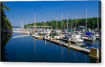 Pleasant Harbor Canvas Print