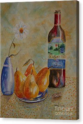 Pleasant Hill Winery Canvas Print by Tamyra Crossley