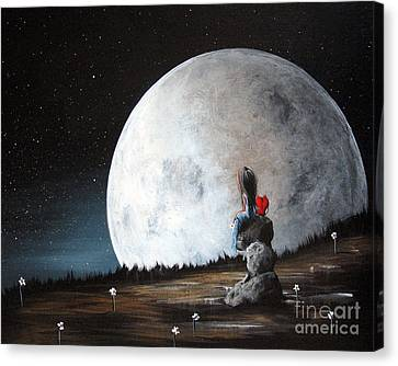 Please Tell Him We Say Hi By Shawna Erback Canvas Print by Shawna Erback
