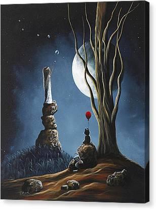 Surreal Art Print By Shawna Erback Canvas Print