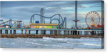Pleasure Pier Canvas Print