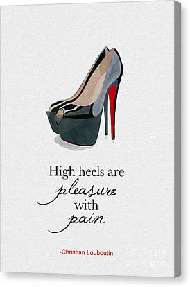 Pleasure With Pain Canvas Print by Rebecca Jenkins