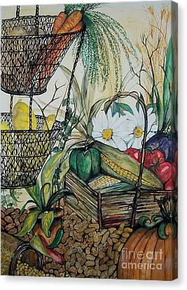 Plentiful Harvest Canvas Print by Laneea Tolley
