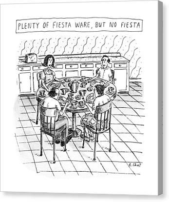 Plenty Of Fiesta Wear Canvas Print