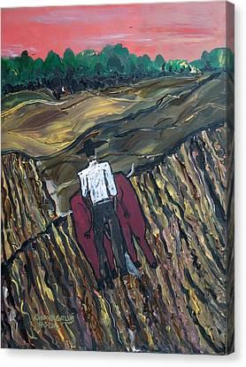 Plow Til' Dawn Canvas Print
