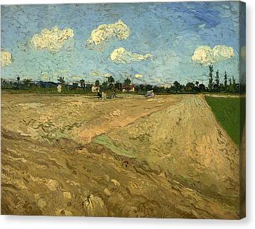 Plowed Fields Canvas Print by Mountain Dreams