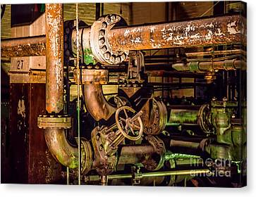 Plumbing Canvas Print by Jon Burch Photography
