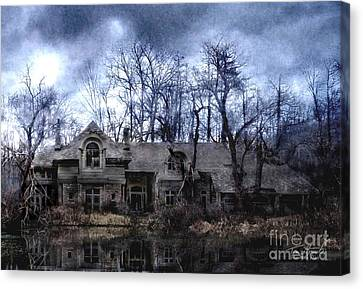 Plunkett Mansion Canvas Print by Tom Straub