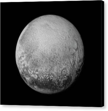 Pluto Canvas Print by Nasa/jhuapl/swri
