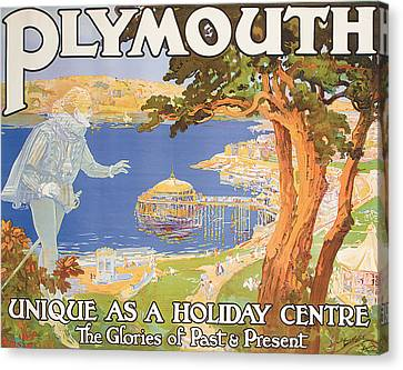 Plymouth Canvas Print by Frederick Hammersley Ball