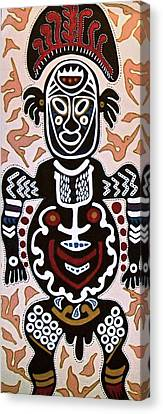 Papua New Guinea Manggi Canvas Print