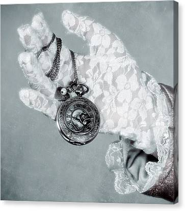 Pocket Watch Canvas Print by Joana Kruse