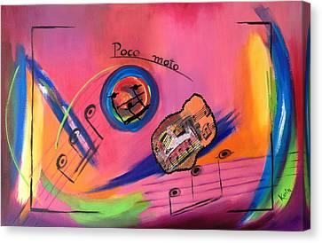 Poco Moto Canvas Print by Karin Eisermann