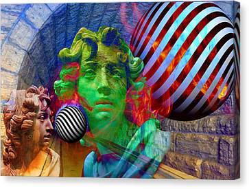 Poet-prophet? Canvas Print by Vito Valenti