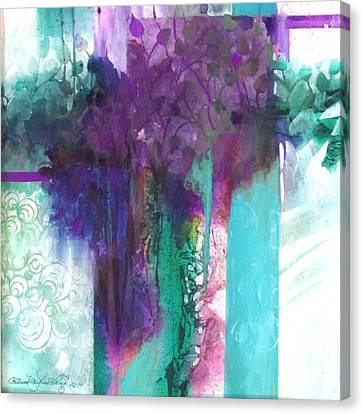 Poetry Is Painting Canvas Print by Patricia Mayhew Hamm