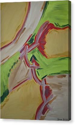 Poignant 2012 Canvas Print by Drea Jensen