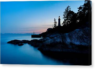 Point Atkinson Lighthouse Canvas Print by Alexis Birkill