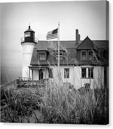 Point Betsie Lighthouse II Canvas Print by Jeff Burton